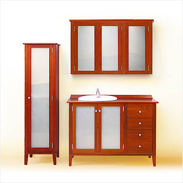 linen press and matching shaving cabinet click to view a larger image